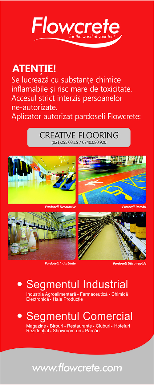 FLOWCRETE Roll UP