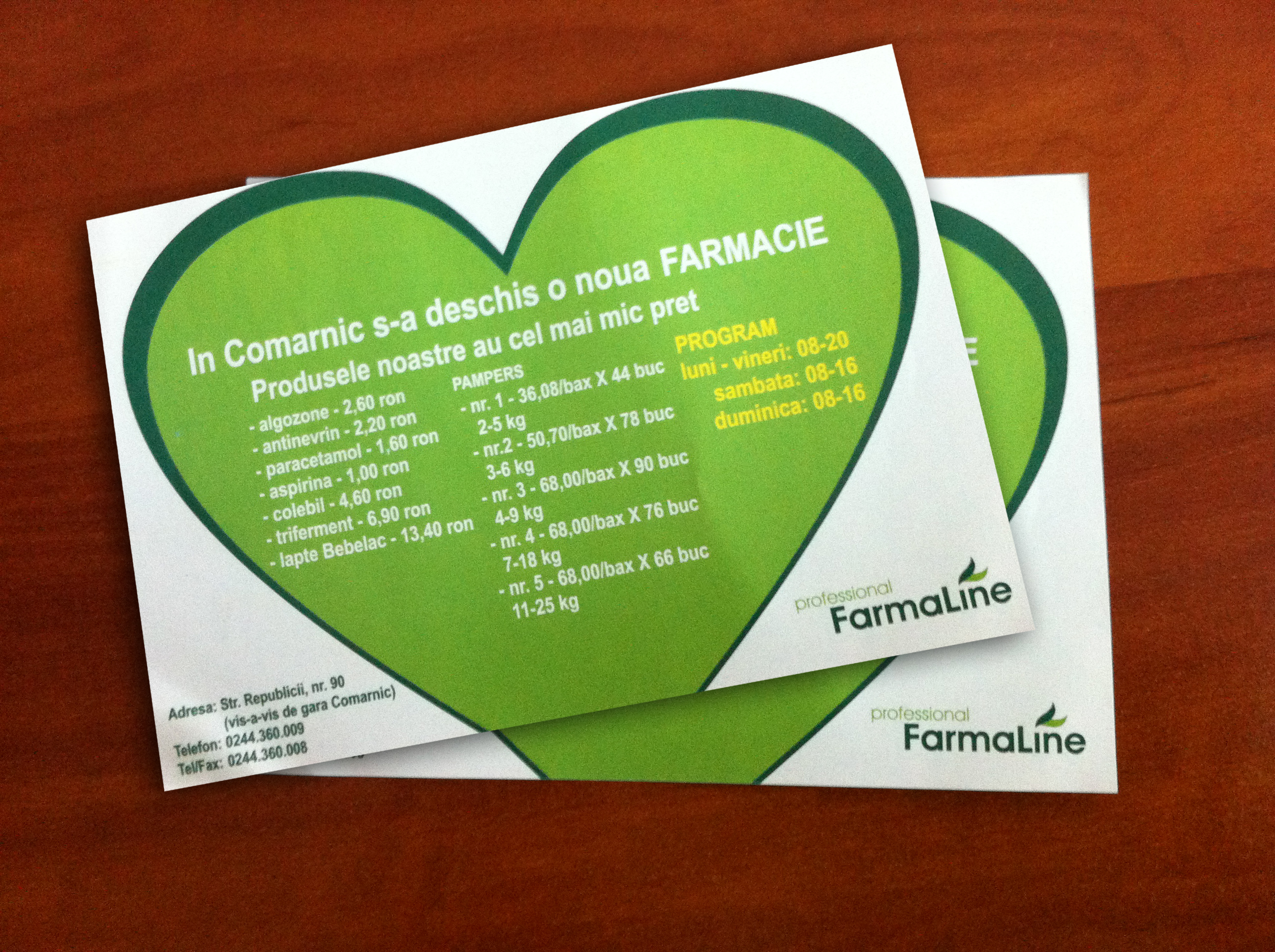 Flyer Design for FarmaLine
